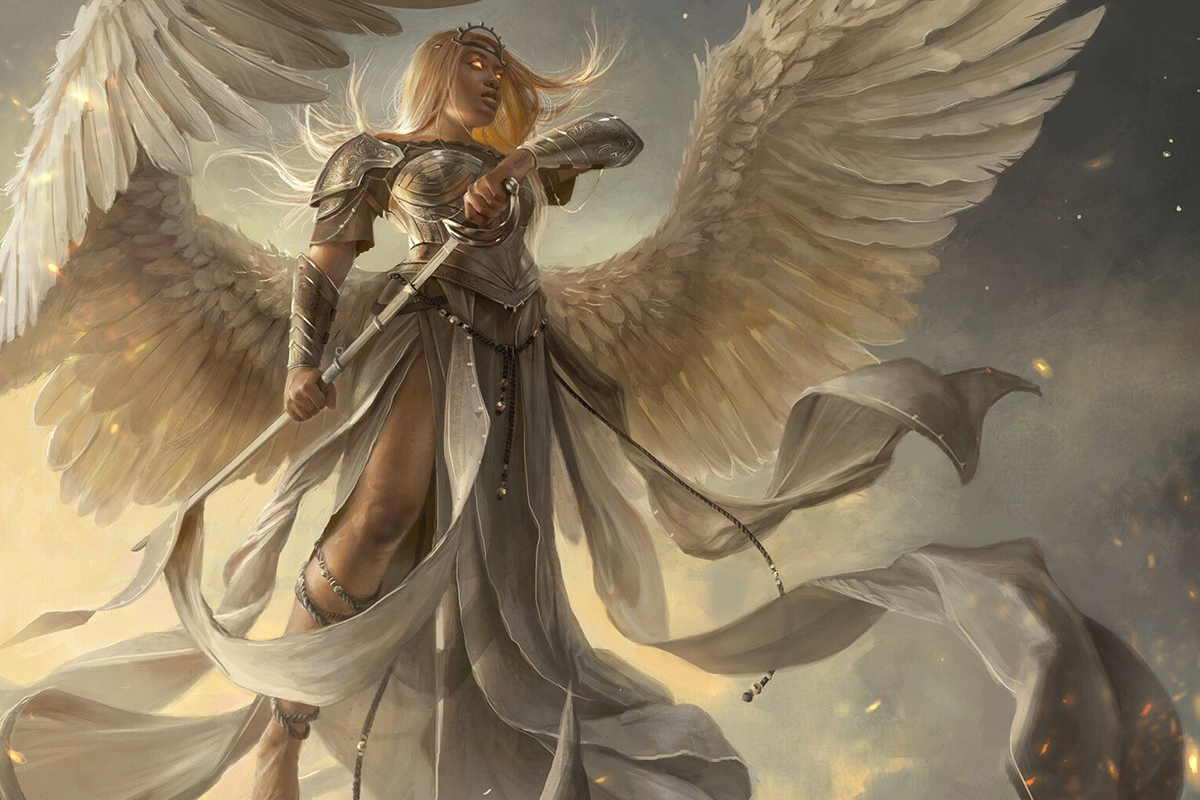 100 Angels and Their Descriptions