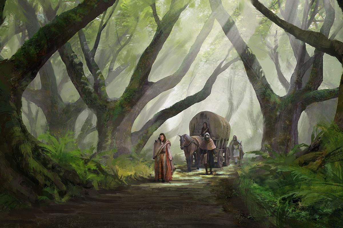 100 Art Along The Path