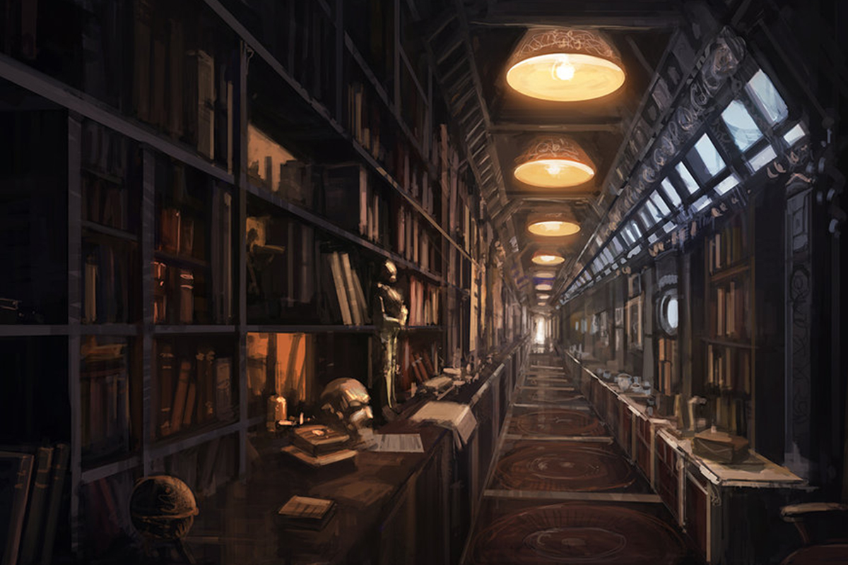 100 Library Books