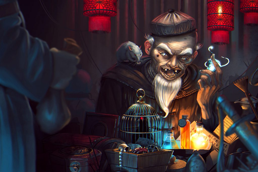 100 Interesting Shopkeepers and Merchants